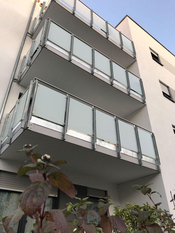 Integriertes Betreutes Wohnen von B&X und DRK in Ludwigshafen Melm - zu jeder Wohnung gehört ein Balkon oder eine Terrasse